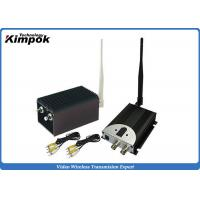 China 60KM LOS UAV Video Transmitter and Receiver 1.2GHz Wireless Video System 8 Channels wholesale