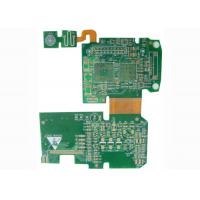 China Controller Rigid Flexible PCB Printed Circuit Board with BGA / Fids / PTH Vias wholesale