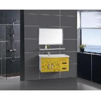 China Stainless Steel Bathroom Vanity / Furniture / Cabinet (F-3078) wholesale