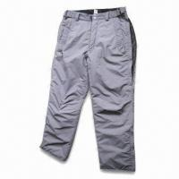 China Ski Pants with Polyester Lining and Padding wholesale