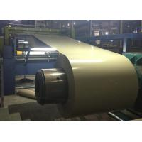 China Durable Color Coated Steel Coil 3 - 8 Ton Coil Weight Corrosion Resistance wholesale