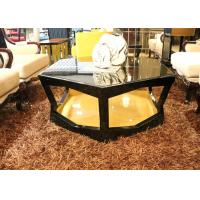 China Cool Round / Large Square Coffee Table , Elegant Mirrored Round Coffee Table Sets wholesale