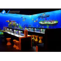 China Magic Painting Wall Interactive Games Projector , Scanner Interactive Gaming Systems wholesale