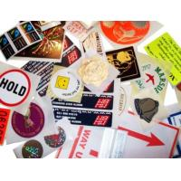 China Strong Sealing Strength Security Sticker Labels Non Leakage Eco Friendly wholesale