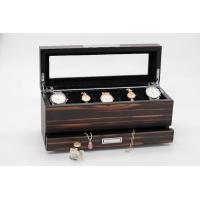 Buy cheap wooden jewelry box with drawer, jewlery organizer, top tray for watches, with from wholesalers