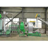 Quality SUS 304 PET Plastic Washing Recycling Machine , Plastic Recycling Crusher With for sale