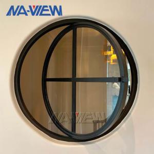 China OEM ODM Low Price New Construction Aluminium Circular Round Pivot Window wholesale
