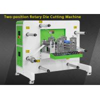 China Round Knife Auto Rotary Die Cut Sticker Machine With Rewinding Function wholesale