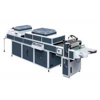 China ZHIVE UV Coating Machine For UV Thick / Thin Paper Three Rolls One Coater SDSG-1200B wholesale