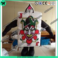 China Festival Event Parade Wlking Inflatable Poker Costume Moving Customized Inflatable wholesale