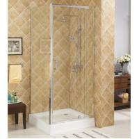 China Hinge tempered glass shower doors,unique hinge shower door,tempered shower enclosure wholesale
