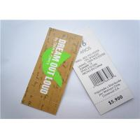 China Recyclable Clothing Label Tags Jeans Paper Hang Tag Garment Accessory wholesale