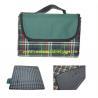 China Tartan Outdoor Folding Picnic Mat , OEM Foldable Picnic Mat Rectangular Shape wholesale