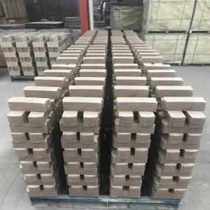 China Common Kiln Refractory Bricks , Phosphate Bonded High Alumina Bricks Heat Resistant on sale