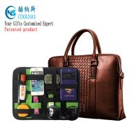 China Nylon Travel GRID Gadget Organizer For Digital Devices 28*21 Cm wholesale