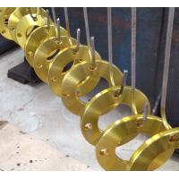 China Compact Forged Steel Flanges , Aluminum Pipe Fittings With  Long Tapered Hub wholesale
