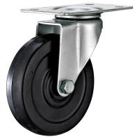 China TPR Industrial Casters For Furniture , Dust Guard Furniture Rollers Casters wholesale
