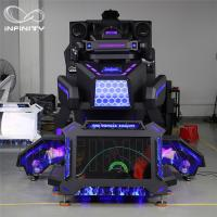 China 1 Person 9D VR Simulator Terninator Racing Car Virtual Arcade Games Machines wholesale
