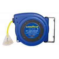 China Industrial Retractable 40 Feet Triple Tap Goodyear Hose Reel Heavy Duty wholesale