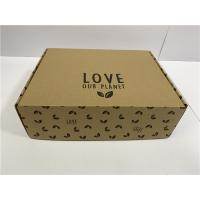 China Heat Protection Cardboard Shoe Boxes For Men Women Children UV Coating wholesale