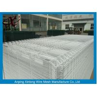 China White Color Hot Dipped Wire Mesh Fence With ISO9001 2008 Certificate wholesale