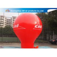 China Pormotion Activity Red Inflatable Montgolfier Hot Air Floor Balloon wholesale