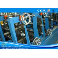 China TIG Welding Stainless Steel Tube Mill With Pipe Polishing Blue Colour wholesale