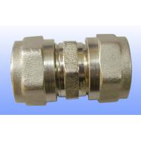 Quality compression brass fitting equal straight for PEX-AL-PEX for sale
