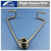 China Customized Stainless Steel Wire Forming Stainless Steel Spring Clips For JIS wholesale