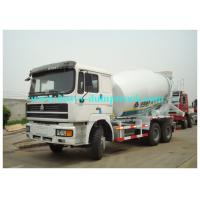 Buy cheap SINOTRUK HOWO 6X4 self loading mixer truck with EVB ABS MTCO Traveling data recorder from wholesalers
