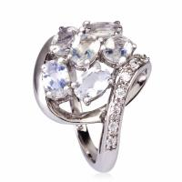 China NEW Crystal Silver Rings K-YG-A999 wholesale