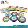 China :High-density Environmental Protection Casino Ceramic Code Manufacturers Design Custom Gambling Ceramic Chip Accept pers wholesale