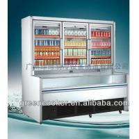 China 1500L Dual - Temperature Island Combination Freezer For Store wholesale