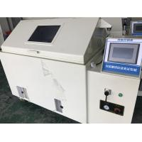 China Pid Controller 80l Salt Spray Test Chamber Pvc Material For Plastic Rubber on sale