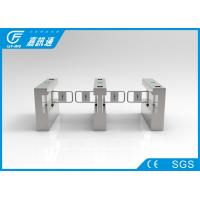 China Secuirty Passager Swing Gate Turnstile 40persons / Min For Factory Workforce wholesale