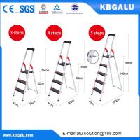 Buy cheap Multi-purpose high quality folding aluminium ladder with 4 steps from wholesalers