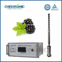 China IUIP3000 Efficient Ultrasonic Extraction Equipment for Procyanidins wholesale