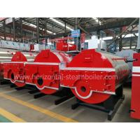 China Durable Automatic Control Oil Fired Hot Water Boiler 35 - 14MW With Three Return Trip wholesale