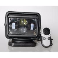 China Rotating Wireless LED Search Light For Off Road Truck 12v / 24v 60 Watt wholesale