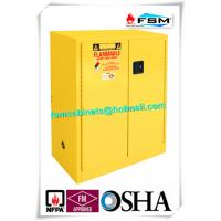 Quality Lockable Safety Storage Cabinets Adjustable Fireproof Vents For Flammable Liquids for sale