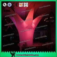 China 3M Events Decoration Lighting Inflatable Tree For Banquet Decoration wholesale