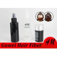 Buy cheap Colorful Hair Building Fiber Powder , Instantly Hair Growth Fiber OEM 5-30g product