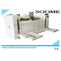 China Smooth Sealing Carton Box Making Machine , Safety Box Stitch Sewing Machine wholesale