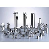 China 3A Stainless Steel Pipe Fittings For Milk Production Line Juice Processing Line on sale