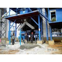 China Bucket Elevator Concrete Mixing Plant , Ready Mix Concrete Plant wholesale