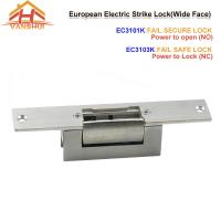 China Access Control Electric Strike Door Lock With Wide Face For NO And NC Status wholesale