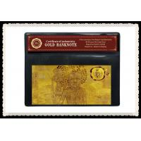 China AUD $10 Commemorative Engrave Gold Banknote Plated With Pure 99.9% 24K Gold on sale