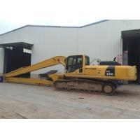 Buy cheap Excavator Long Reach Boom For Komatsu PC350 With 21meters and 4ton counterweight from wholesalers