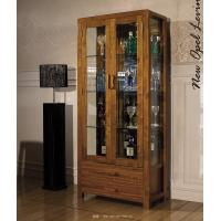 China Foshan Wooden dining set furniture wine cabinet/two cabinet wholesale