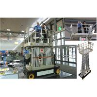 Quality Four Mast Scissor Lift Work Platform Self Propelled 10m For Office Buildings for sale